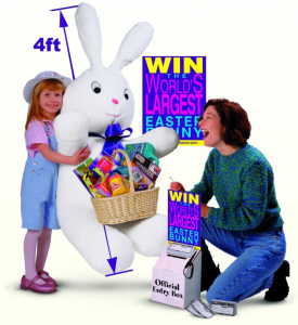 Giant Easter Bunny Promotion